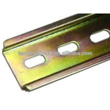TA-001S OEM verzinkter Stahl 35mm Standard Klemmenleiste Din Rail