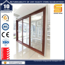 3 Tracks Thermal Break Aluminum Sliding Door (SD7790)