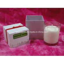 Черничный роскошная ароматическая свеча с картонной коробке Упаковка