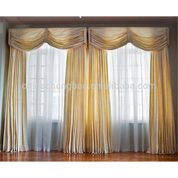 New fashion royal turkish curtains organic silk fabric for curtains