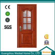 Porte d'intérieur / porte de porte en verre de fibre de porte française pour le projet