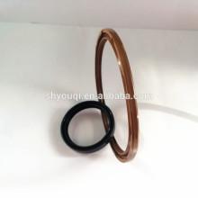 Sello de aceite TC de goma FKM / Viton de 3 mm sin muelle