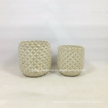 Vase en céramique de vente chaude de service d'OEM