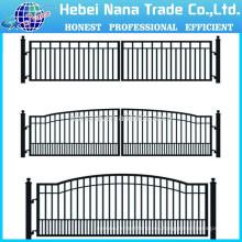 Diseños de la puerta de la casa / puertas de la granja de aluminio Doble puerta de oscilación (fabricante de China)