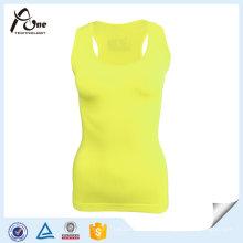 Desgaste ativo personalizado liso do verão da camisola de alças para mulheres