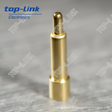 Single Pin Pogo Pin Connector with Spring