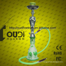 Prix de vente en gros hookah chicha narguile bon marché en verre hookah shisha