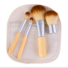New Style 4PCS Bamboo Make up Brushes Set