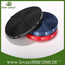 Cinta de polietileno de la cinta del grosgrain de la cinta textil de encargo