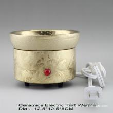 15CE23975 Aquecedor de fragrância elétrico banhado a ouro