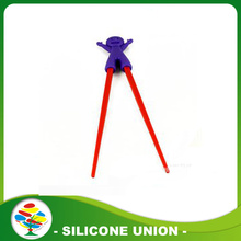 Wholesale kids kitchenware silicone korean chopsticks