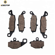 Motorcycle Front&Rear Brake Pads Disks For KLE 650 KLE650 Versys 07-13 ER6F ER-6F 06-13 ER6N ER-6N 06-13 Z750 Z750S ZR750 04-07