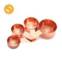 Wholesale Liquid copper measuring Spoon Set and Cup spoons
