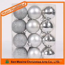 2014 promotional plastic silver balls