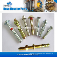 galvanize expansion screw elevator anchor bolt