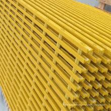Решетка стеклоткани, стеклопластик/стеклопластик решетки, frp Пултрузионный решетки