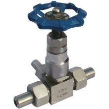 China Factory Threaded 5000psi Stainless Steel Needle Valve