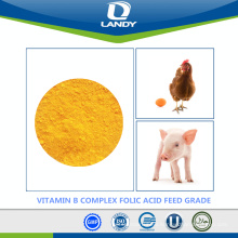 CHINA MANUFACTURER VITAMIN B COMPLEX FOLIC ACID FEED GRADE