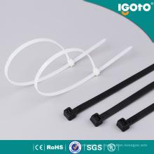 Selbstsichernde elektrische Zubehör Nylon Gurt Kabelbinder
