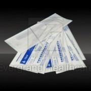 heat-sealing bolsa plana de papel-plástico