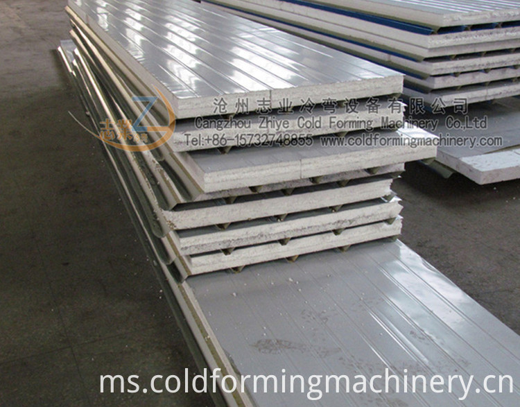 Eps Sandwich Wall Panel Roll Foring Machie