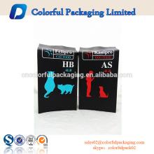 Kundengebundene 4lb wiederverwendbare Beutel Seitenfalten Plastiktaschen für Hundefutter