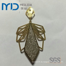 China Elegant Kupfer Filigran Ohrringe Hersteller und Lieferant