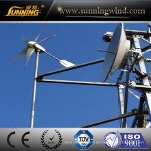 Turbina de energía eólica máxima de 400W para el sistema de fuente de alimentación
