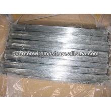 2.3mm Fio de ferro recortado galvanizado ou recozido
