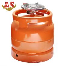 Réservoir de gaz en acier et Cylindre de gaz LPG-6kg au Nigeria