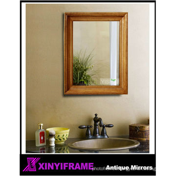 Antique Simple Hand Carved Decorative Wood Carving Mirror Frame