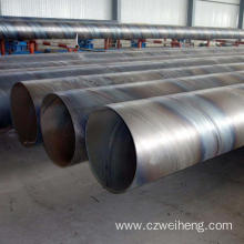3PE Coated SSAW Steel Pipe/ Spiral Welded Steel Pi...
