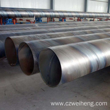 Oiled Ssaw Steel Pipe spirally welded round