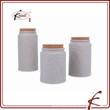 ceramic kitchen canister sets for food