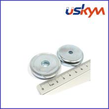 NdFeB Magnetic Pot Neodymium Pot Magnet (P-008)