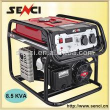 8000 watts SC9000-II Generador de gasolina portátil de 50 Hz pequeño