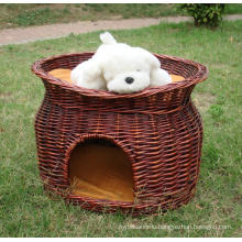 (BC-PK1004) High Quality Handmade Willow Pet Bed