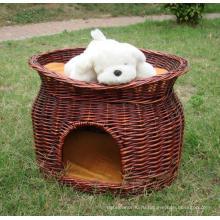 (BC-PK1004) Высокое качество ручной работы ивы Pet Bed
