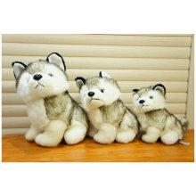 Venta al por mayor Lifelike animal salvaje suave juguete relleno Wolf Plush Toy