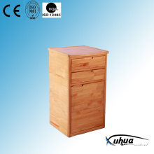 High Quality Solid Wood Hospital Bedside Cabinet (K-12)