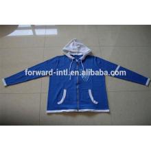 chaqueta con capucha de rebeca de polar de los nuevos hombres del diseño