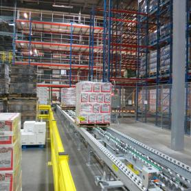 ISO Automated Pallet Racking Systems ASRS