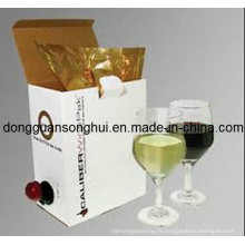 Grape Wine Packaging Bib Bag in Box / Wine Plastic Bag / Wine Bag