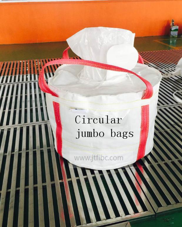 Circular jumbo bags
