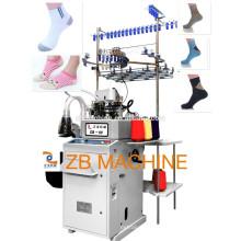 máquina de tricô totalmente automática máquina de fazer meias