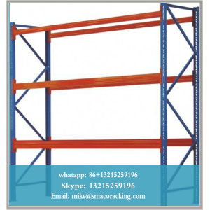 sistem rak gudang industri, Penyimpanan Logam Racks Heavy Duty Firm Durable