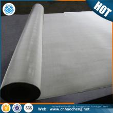 Rotationsdruck 20 40 60 Mesh Reinnickel-Siebgewebe