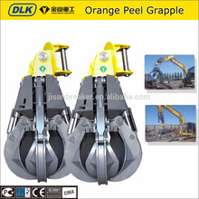 Excavator Grapple Scrap Grab Hydraulic Orange Peel Grab