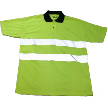 Green Reflective Safety T-Shirt