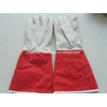 Lange Manschette Garten Handschuh-Günstige Handschuh-Arbeitshandschuh